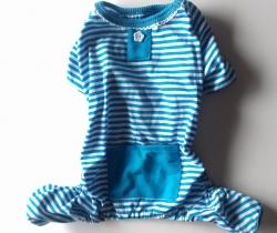 Pijama para perro Talla L. Color azul