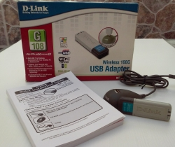 Adaptador Wireless USB d-Link DWL-G132