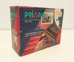 Escáner antiguo manual a color Primax modelo: PM205C