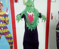 Disfraz adulto Chico Monstruo Talla única Carnaval