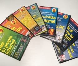 Lote 8 DVDs PC Actual