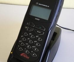 Motorola GSM 6300 Teléfono móvil vintage S6304ABBL, Motorola International 6300