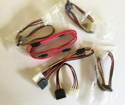 Cables datos SATA y alimentación SATA