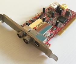 Tarjeta PCI Pinnacle PCTV 310i DVB-T, Analógica