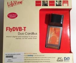 Tarjeta Sintonizadora PCMCIA LiveView FlyDVB-T Duo CardBus LR502TAR