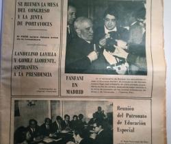 Periódico antiguo Las Provincias Miércoles 21 de Mazo de 1979 Diario Decano de la Región Valenciana