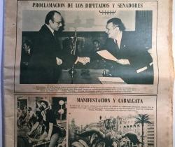Periódico antiguo Las Provincias Martes 13 de Mazo de 1979 Diario Decano de la Región Valenciana