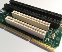 DELL 82416 Tarjeta vertical Riser Card 2X ISA 2X PCI 32bit
