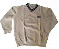 Sudadera Vintage UMBRO Talla S cuello pico suéter