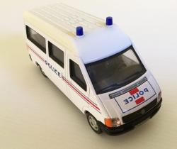 Furgón Volkswagen de la Police de Francia HONGWELL escala 1/43