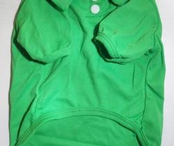 Polo verde para perro Talla L camiseta mascota ropa