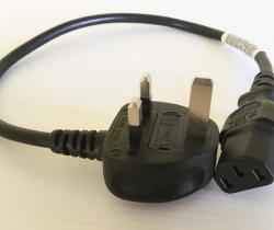 Cable de alimentación 3 Pin de UK Reino unido SS145/A 040607-11 BS-1363/A Longwell