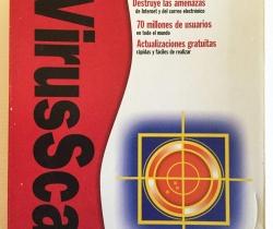 McAfee VirusScan Retail box para Windows 95/98/ME/2000/NT