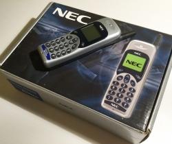 Teléfono móvil NEC DB1400 MP5J1R2-1A Movistar (Averiado)