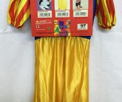 Disfraz infantil Blancanieves Talla de 3 a 4 años niña Carnaval