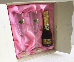Copas Champagne Tivoli para Bodas Vintage años 90