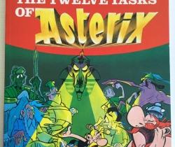 Cómic The Twelve tasks of Asterix Goscinny and Uderzo 1987 Hodder Gargaud