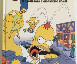 Grandes del Humor Simpson El asombroso y gigantesco Homer