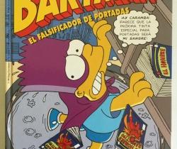 Grandes del Humor Simpson Bartman El falsificador de portadas