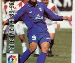Lote de 2 cromos Fichas de la Liga 96/97 Mundi Cromo