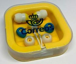 Auriculares botón de Correos – Nuevos.