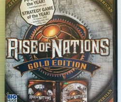 Juego PC Rise of Nations Gold Edition Inglés