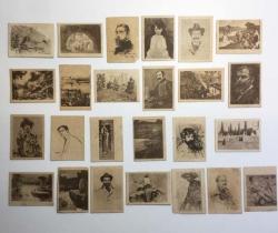Lote de 25 fototipias Serie 30 – J. Thomas – Principios de 1900