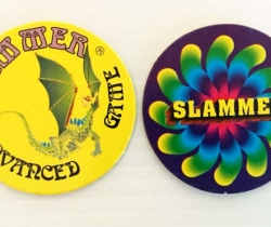 Lote 2 tazos Slammer American Game