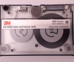 Cinta almacenamiento 3M DC 6150 Data Cartridge Tape – 150 Mbytes