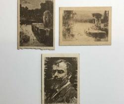 Lote de 3 fototipias Serie 30 – J. Thomas – Principios de 1900