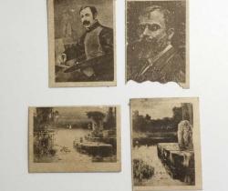 Lote de 4 fototipias Serie 30 – J. Thomas – Principios de 1900