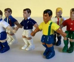 Lote 6 figuritas goleadoras – Francia 98 – Cereales Nesquik – Nestlé