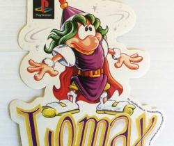 Adhesivo pegatina Lomax de PlayStation – 1996