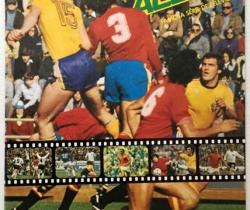 Álbum Fútbol en Acción – Danone 82 – Año 1981 – Naranjito – Incompleto
