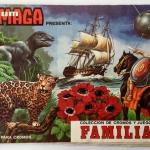Álbum MAGA Colección de cromos y juegos de FAMILIAS – 1978 – Incompleto