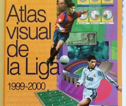 Atlas Visual de la Liga – Interviú – Movistar – 1999-2000 – Incompleto