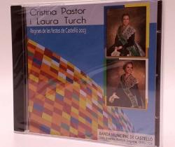 CD de Música Banda Municipal de Castelló – Regines de les Festes de Castelló 2013 – Cristina Pastor i Laura Turch