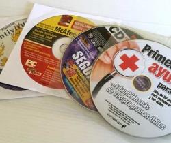 Lote de 4 CDs de Seguridad y Antivirus – PC Actual – Computer Idea – Computer Hoy – PC World