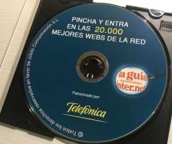 CD La guía de las nuevas tecnologías e internet – Pincha y entra en las 20.000 mejores webs de la red