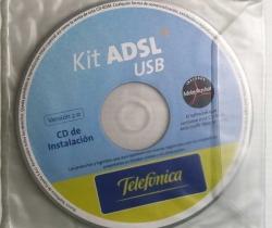 CD de instalación Kit ADSL USB Telefónica 2005