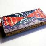 Caja de cerillas años 30 – Bradford's Boston cigarettes – Jersey Lily