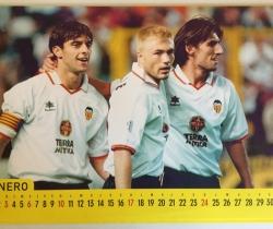Calendario A4 1999 Valencia CF
