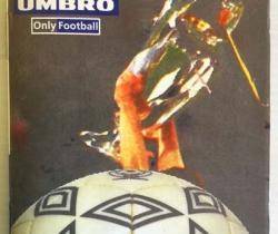 Calendario Liga de Fútbol profesional 98/99 Umbro