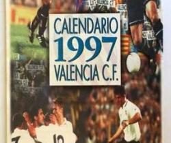 Calendario de pared del Valencia C.F. 1997 – Super Deporte – La Caixa