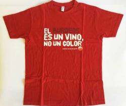 Camiseta Amstel – El burdeos es un vino, no un color – Imperial – Talla L