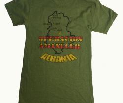 Camiseta de la Legión. Operación Amanecer – Albania – 1997