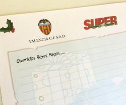 Carta a los Reyes Magos Valencia CF regalo de Super Deporte