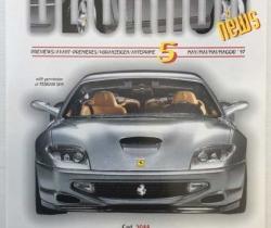 Catálogo BBURAGO NEWS Nº 5 – Mayo 1997 – FERRARI 550 MARANELLO – TAVITOYS