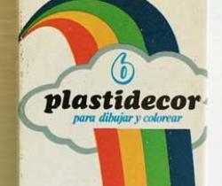 Caja de 6 ceras de colores Plastidecor – Conté – Flamagas