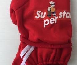 Chándal para perro Talla M – Color rojo – Superstar